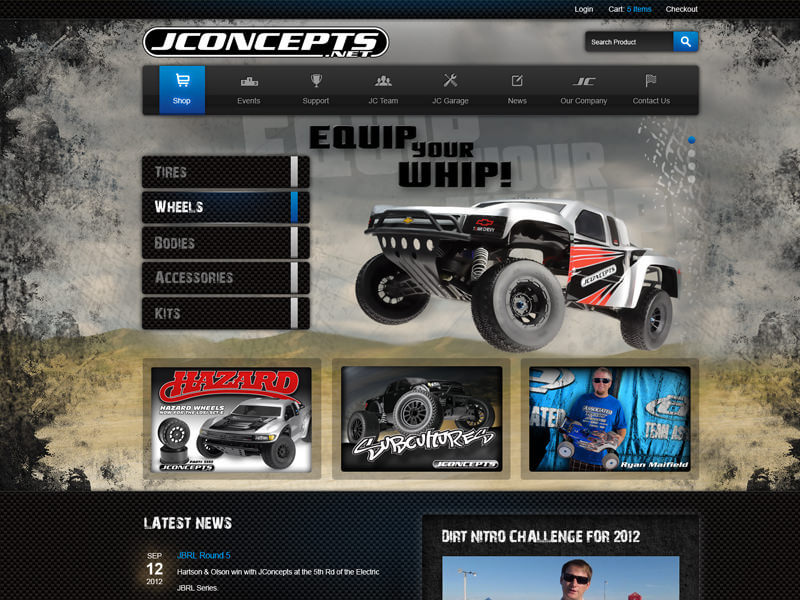JConcepts redesign