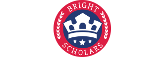 bright scholars logo design