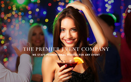 Event marketing company website design for Elsie's Events