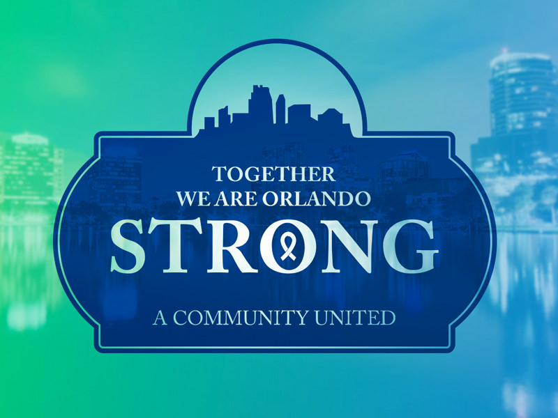 Custom graphic for #OrlandoStrong