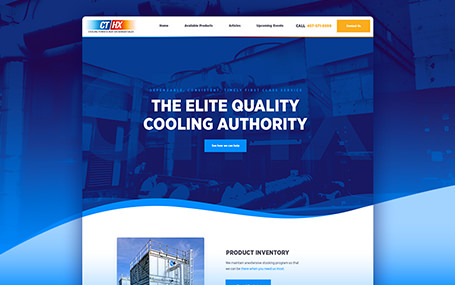 Cooling and heating website