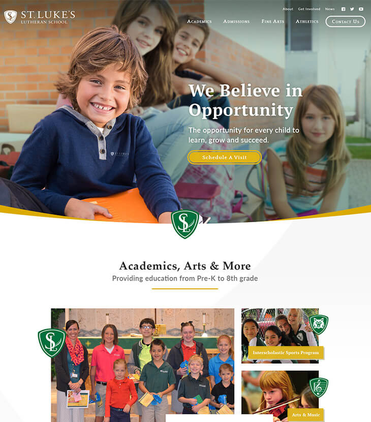 St. Luke's Website Redesign