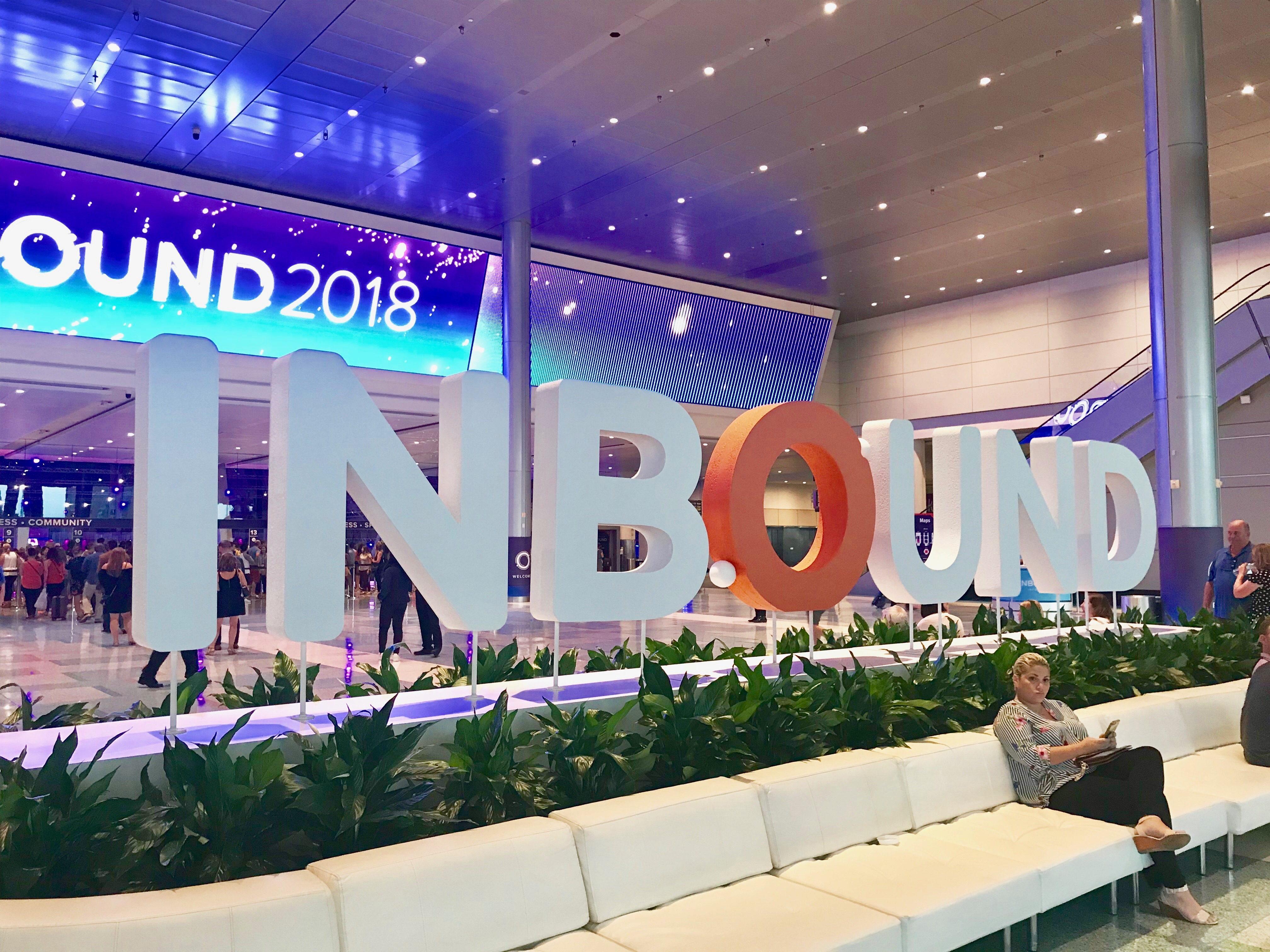 INBOUND 2018 Event at the Boston Convention and Exhibition Center