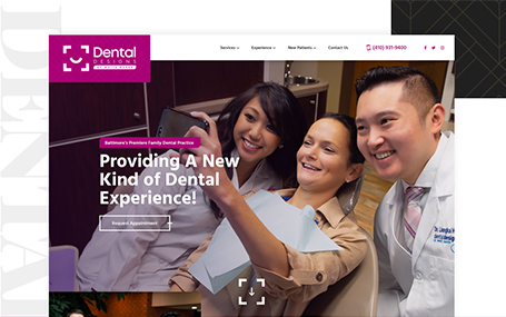 Dental Designs Website Design