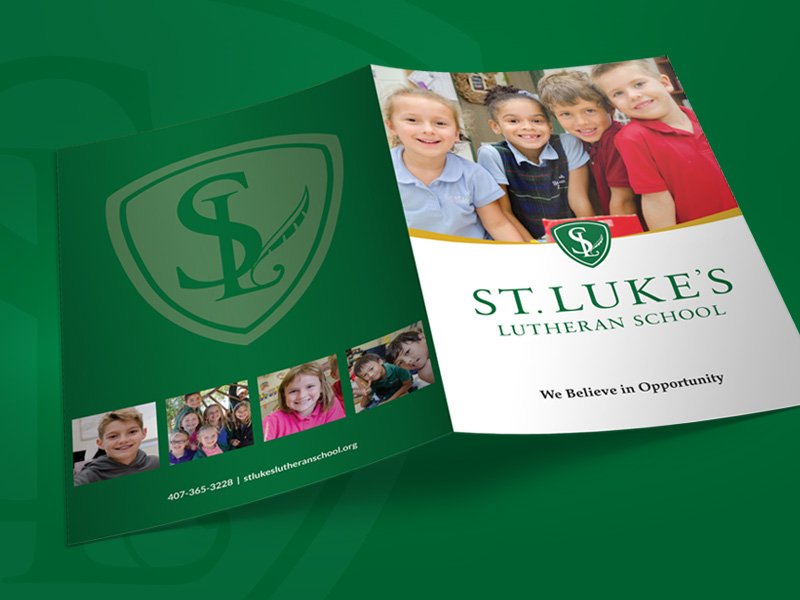 St. Luke's Lutheran School Marketing Collateral