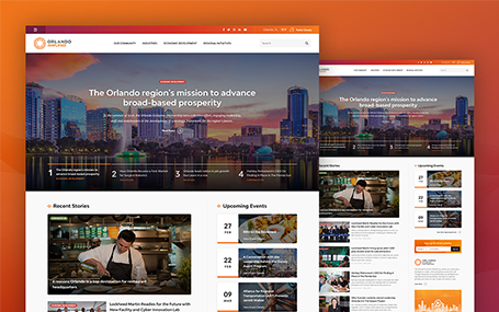 Orlando Amplified Website Design
