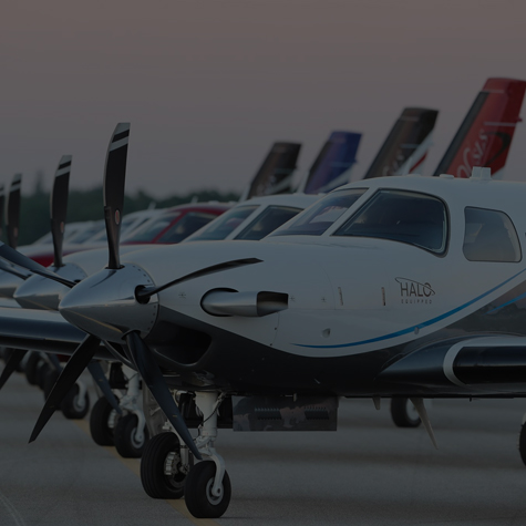 Piper Aircraft lineup of planes