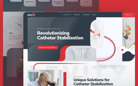 Levity Products Website
