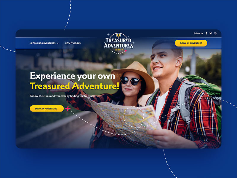 Treasured Adventures Website