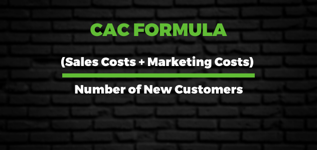 Calculating CAC formula