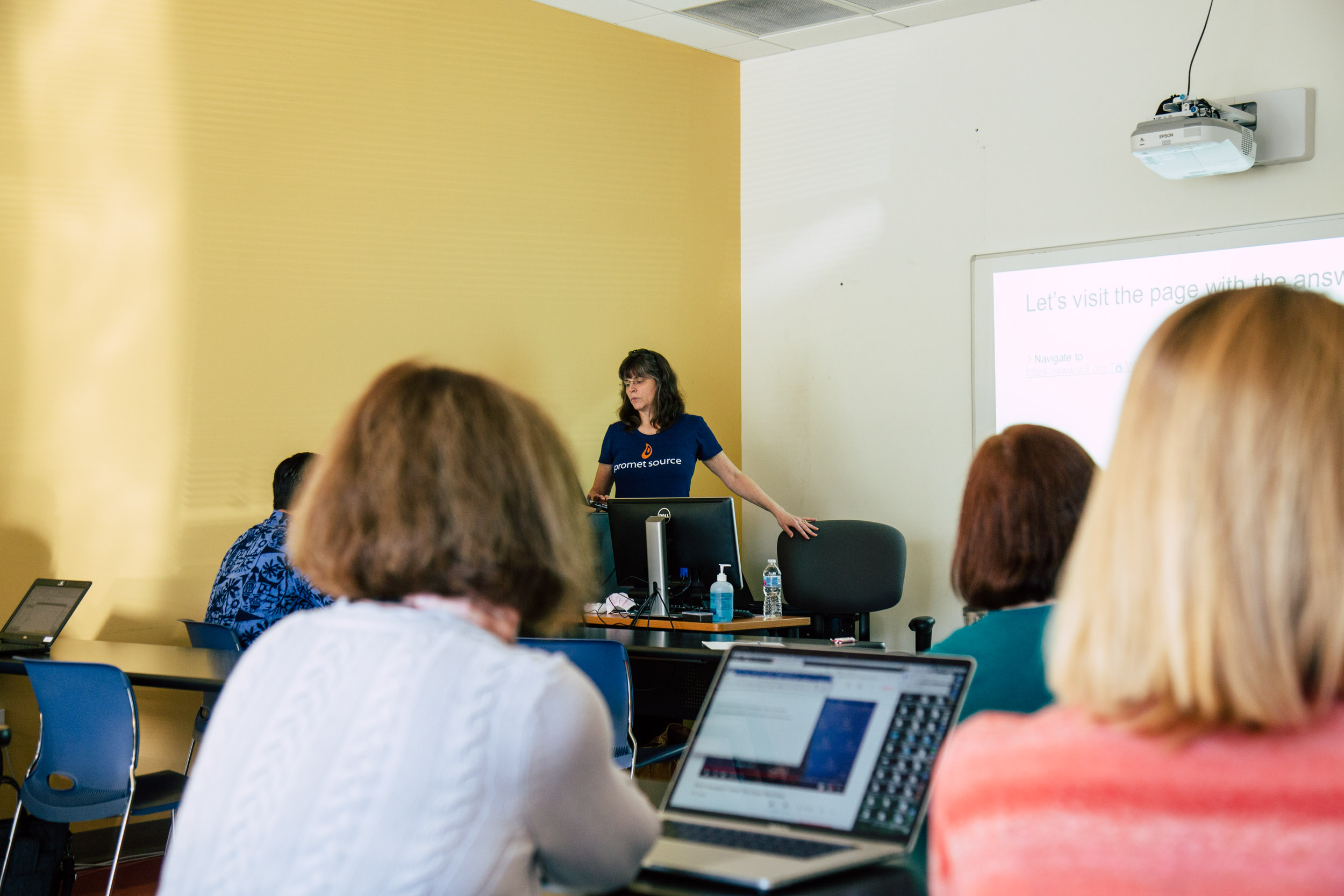 Web Accessibility Training – Cindy McCourt