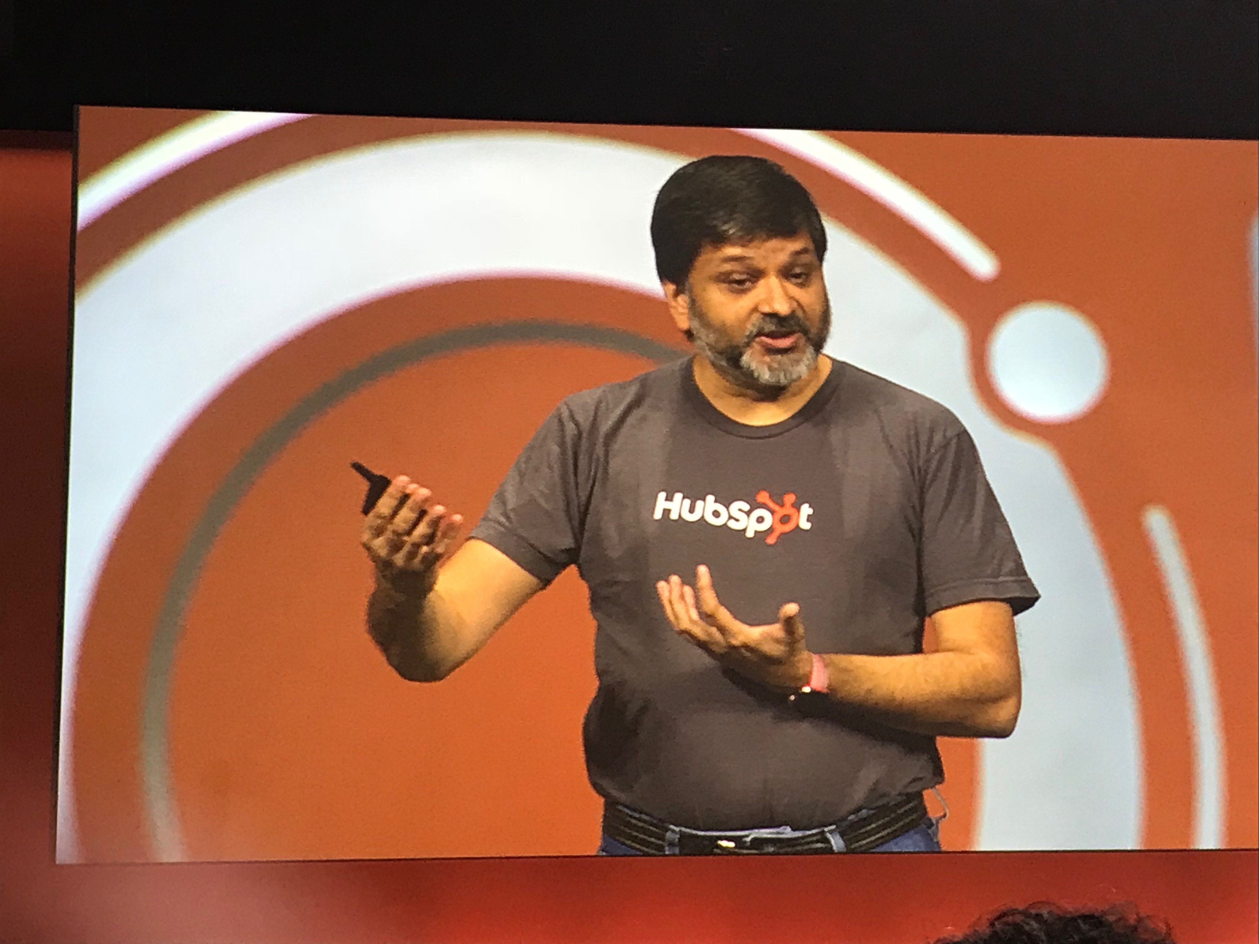 HubSpot CTO and Founder, Dharmesh Shah