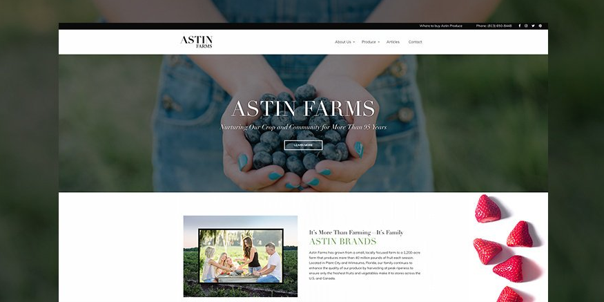 astin farms core partnership
