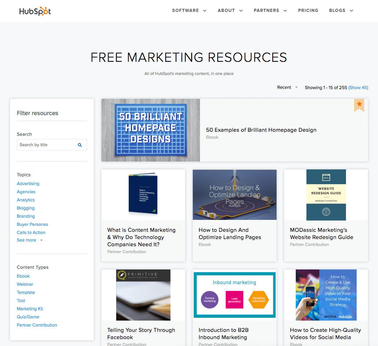 Free Inbound Marketing Tools