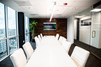 Designzillas conference room in Orlando office
